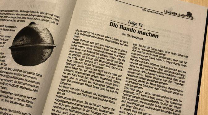 """Kurzgeschichte """"Die Runde Machen"""""""