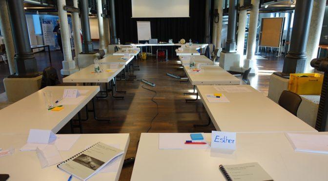 Workshop in Wolfenbüttel