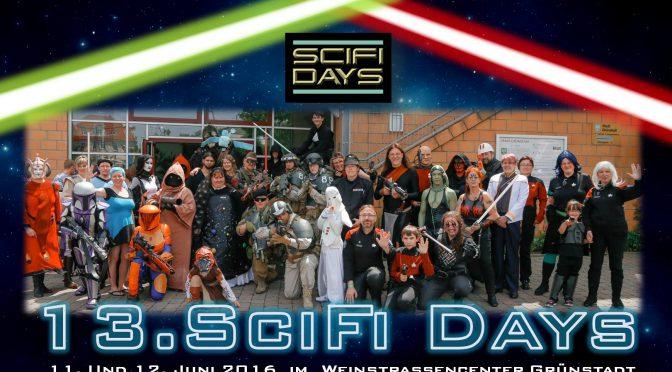 Vortrag auf den SciFi-Days in Grünstadt
